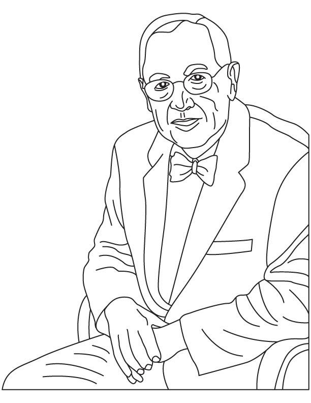 Nick Holonyak coloring page