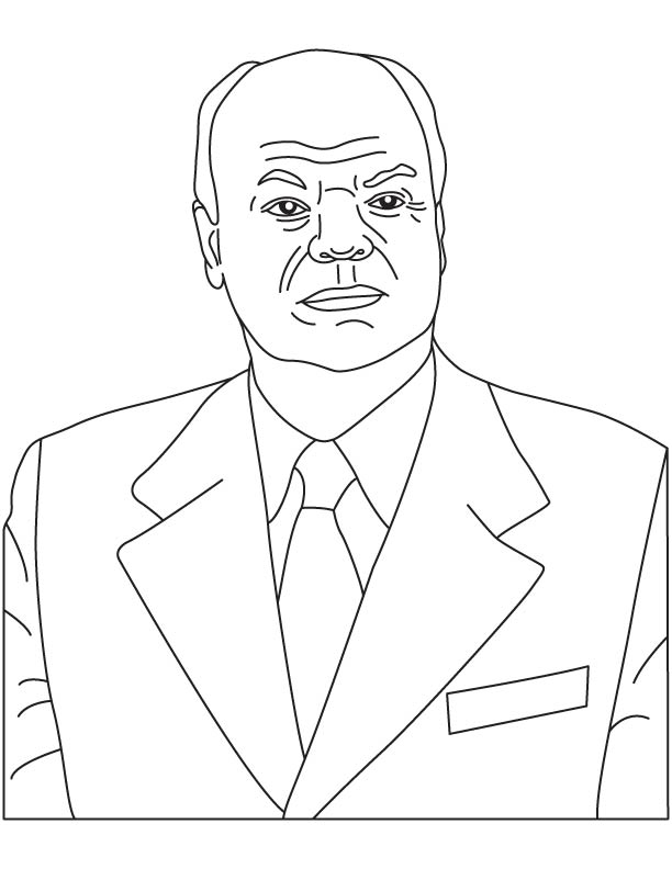 Nikolay Basov coloring page