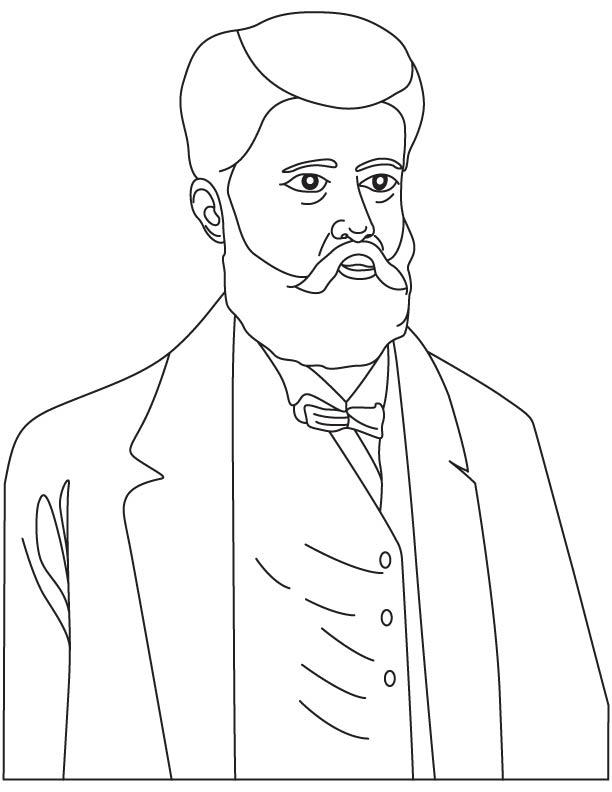 Nikolay Benardos coloring page