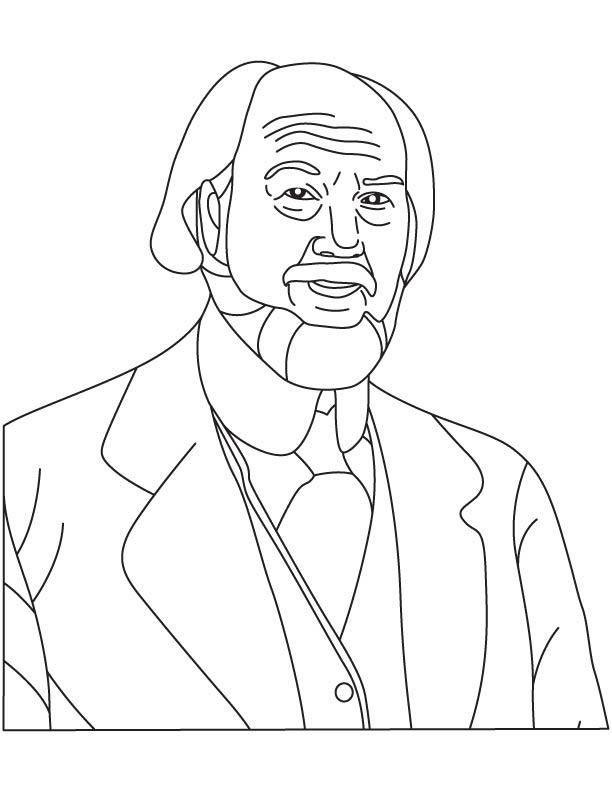 Nils I Bohlin coloring page