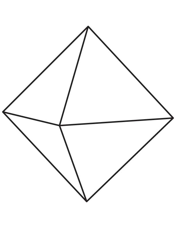 Comfortable Octahedron Template Pictures Inspiration ...