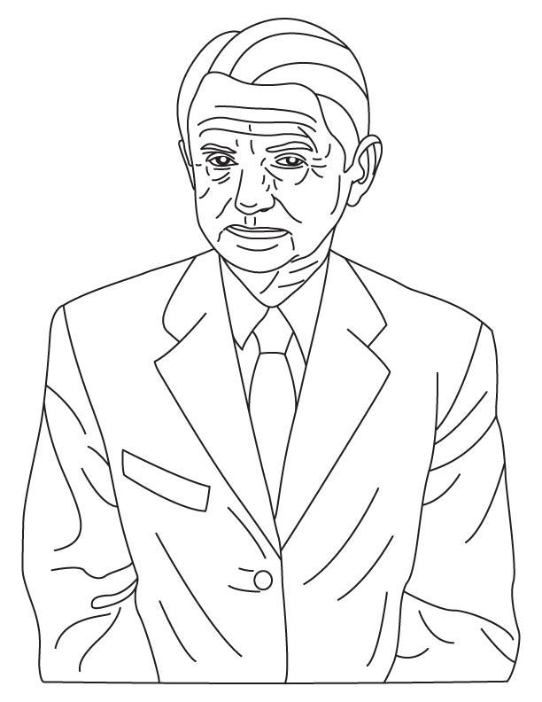 Oleg Antonov coloring page