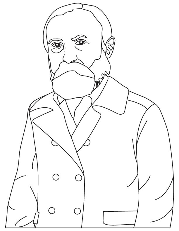 Otto Titusz Blathy coloring page