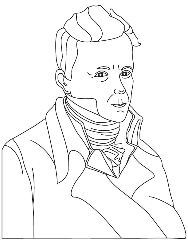Rene Theophile Hyacinthe Laennec coloring page