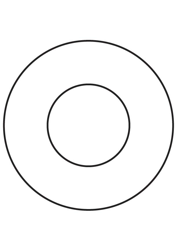 Ring coloring page Download Free