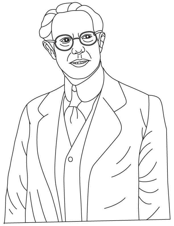 Robert Adler coloring pages