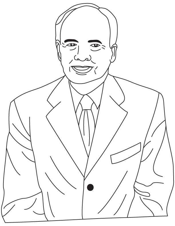 Robert W. Bower coloring pages