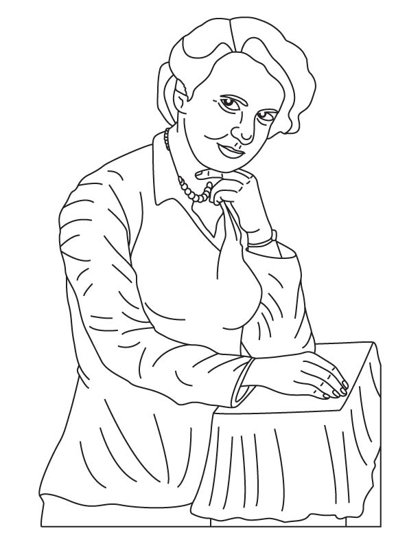 Rosalind Elsie Franklin coloring pages
