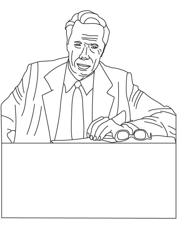 Rostislav Alexeyev coloring page