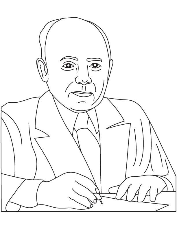 Sam Born coloring page