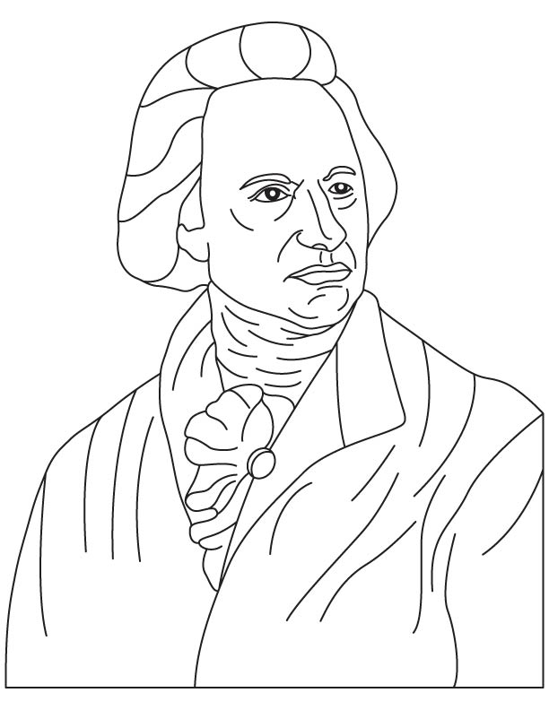 Sir Frederick William Herschel coloring page