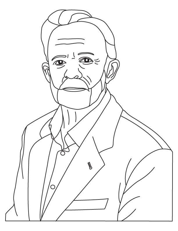 Thomas Hunt Morgan coloring pages