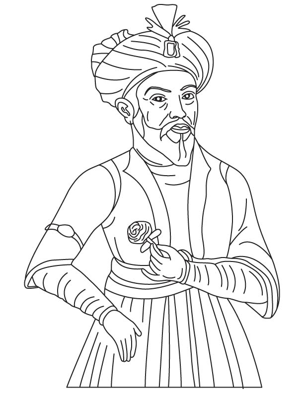 Ulugh Beg coloring pages