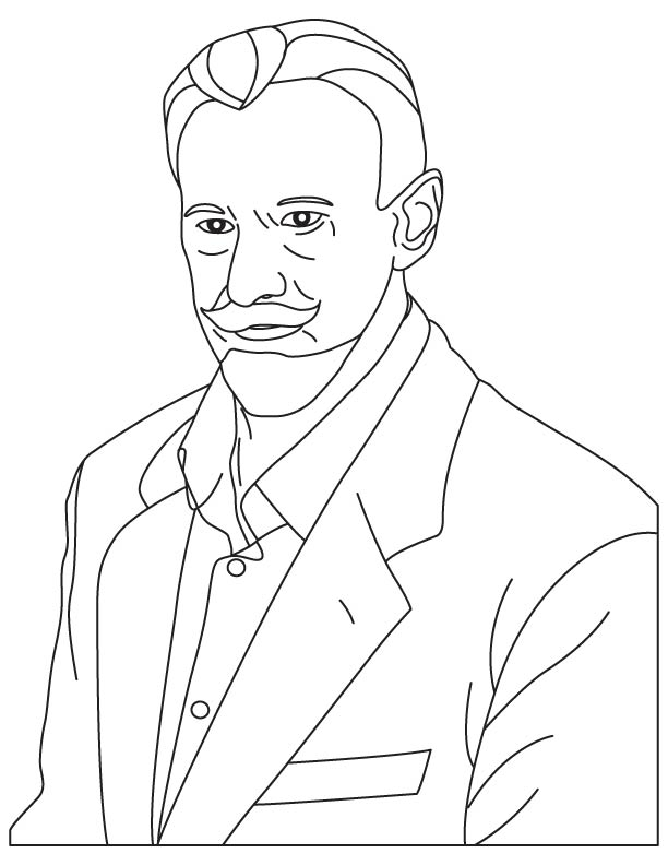 Vasily Andreyev coloring pages