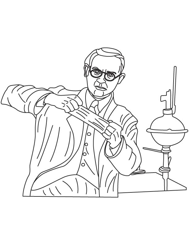 Wallace Hume Carothers coloring page