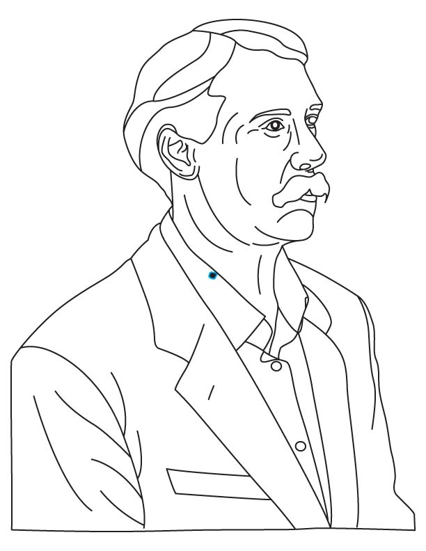 William Friese Greene coloring page