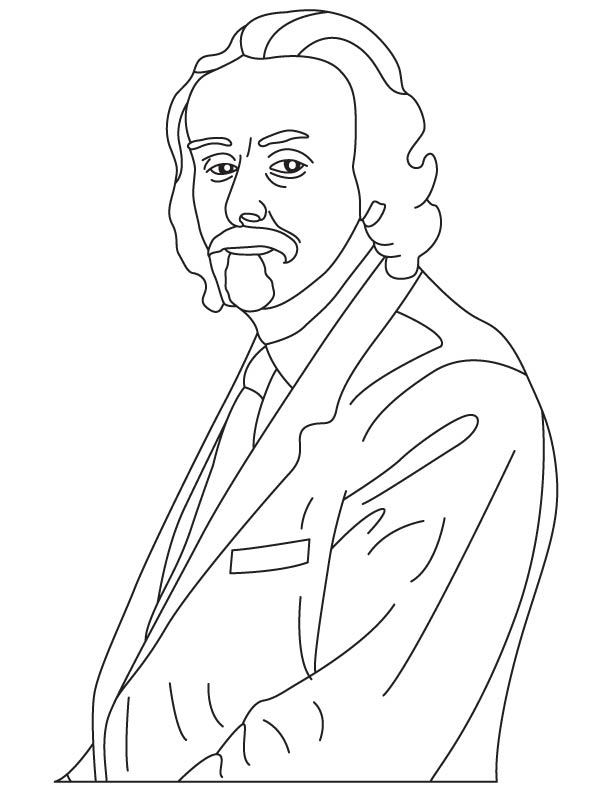 William Harvey coloring page