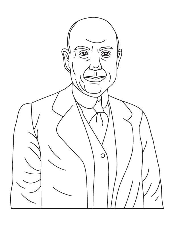 William Potts coloring page