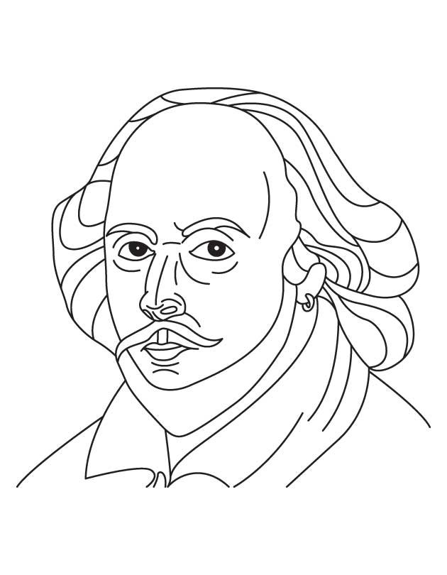 coloring pages shakespeare - photo#5