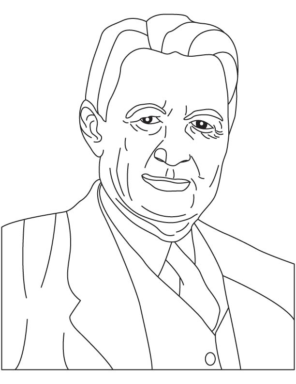 Willis Carrier coloring page