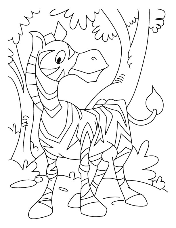 Marty Madagascar Zebra Coloring Pages 258632 Madagascar 2 Coloring -  Coloring Home | 792x612