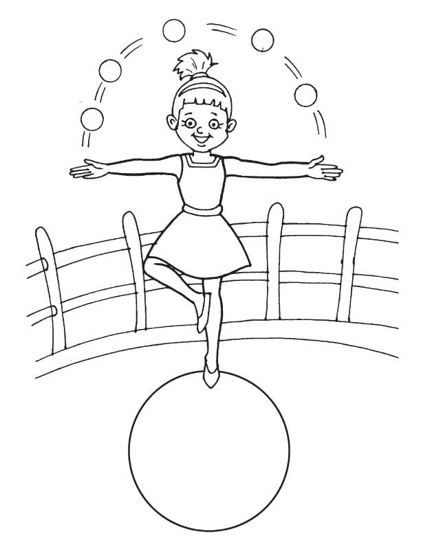acrobat coloring pages - photo#11