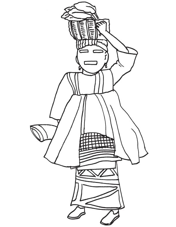 free african american coloring pages - photo#33