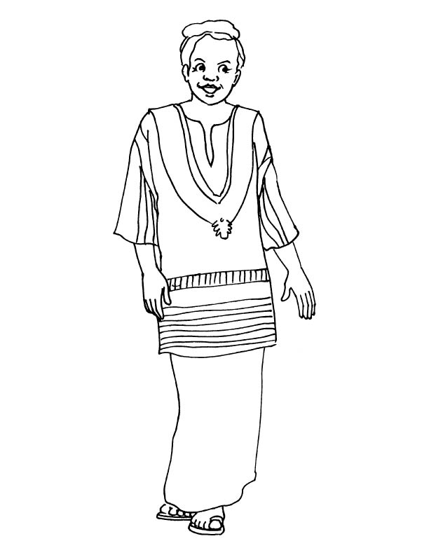 African Culture Coloring Pages. african culture coloring pages color ...