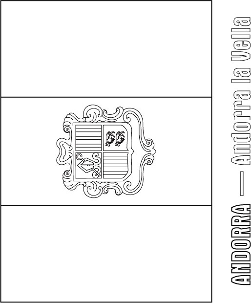 Flag Of Spain Coloring PageOfPrintable Coloring Pages Free Download