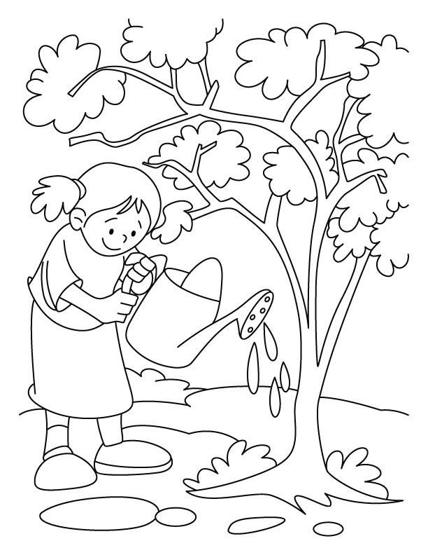 Tree Coloring Pages Download Free Tree Coloring Pages For Kids Free Tree Coloring Image