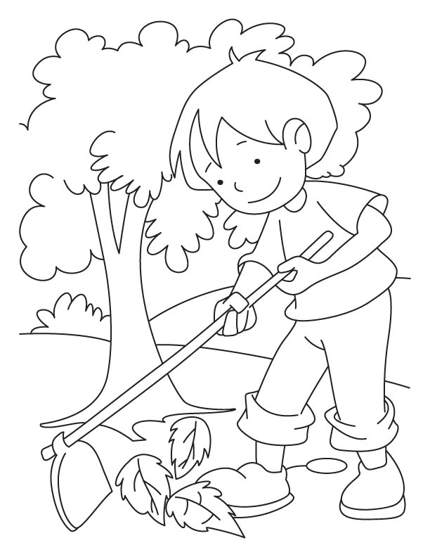 Arbor Day Printable Coloring Pages