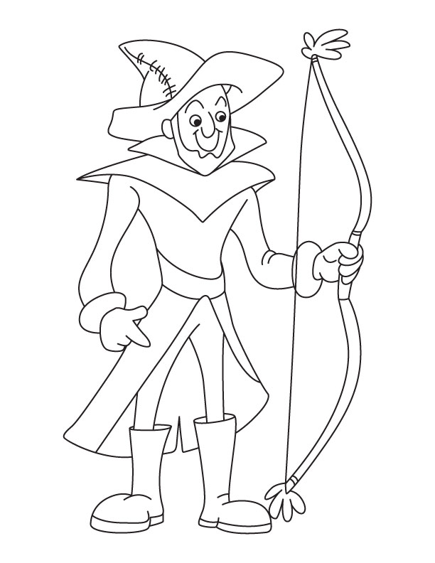coloring pages archery pictures - photo#14