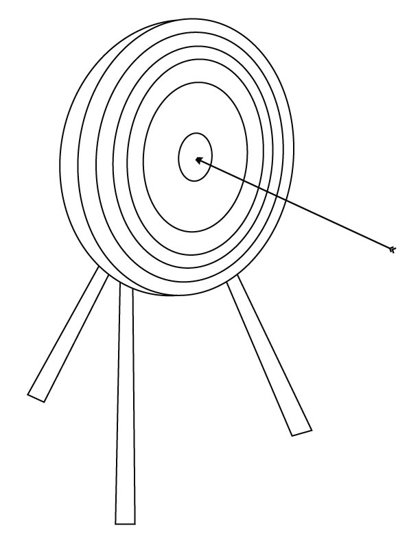 coloring pages archery pictures - photo#6