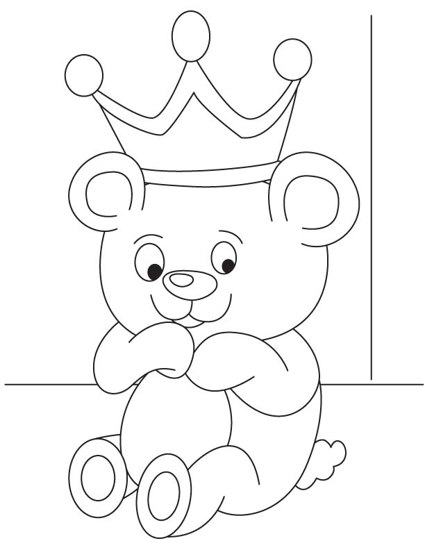 Baby bear cub coloring page download free baby bear cub for Bear cub coloring pages