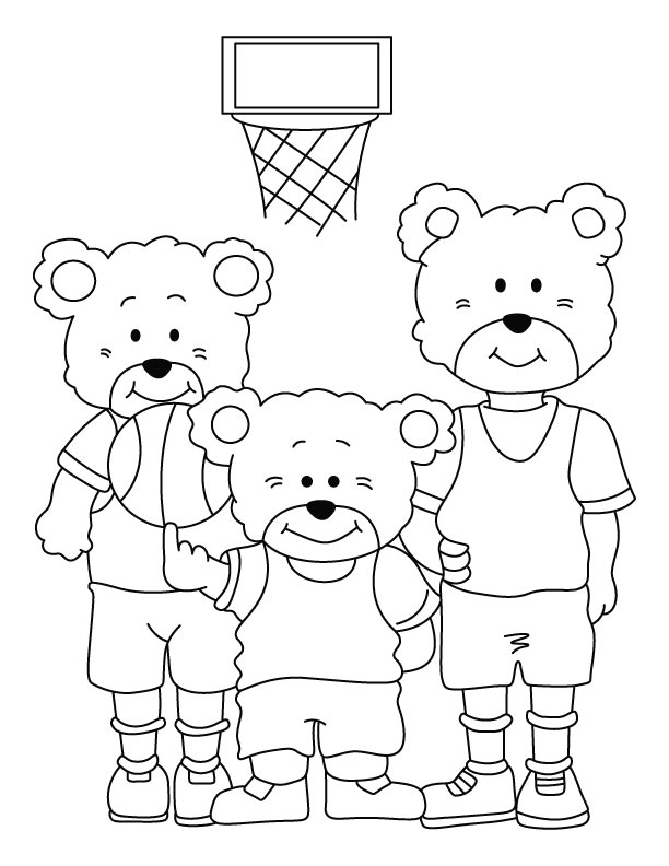 Bear Family Coloring Page Download Free Bear Family Coloring Family Coloring Page