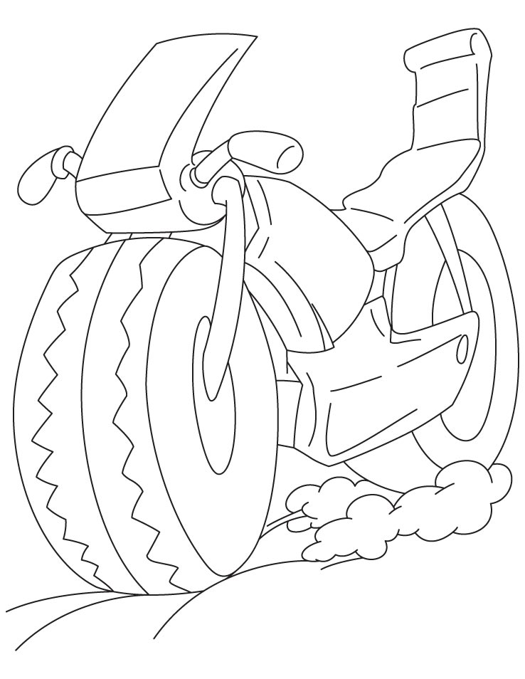sportbike coloring pages | Sports bike coloring page | Download Free Sports bike ...