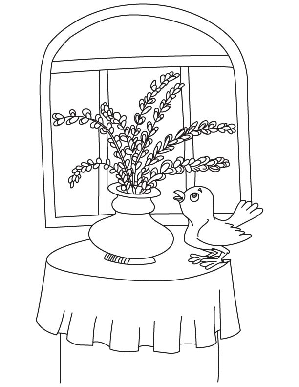 Lavender Flower Coloring Pages Coloring Pages