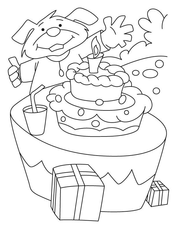 You all are invited on my Birthday coloring pages