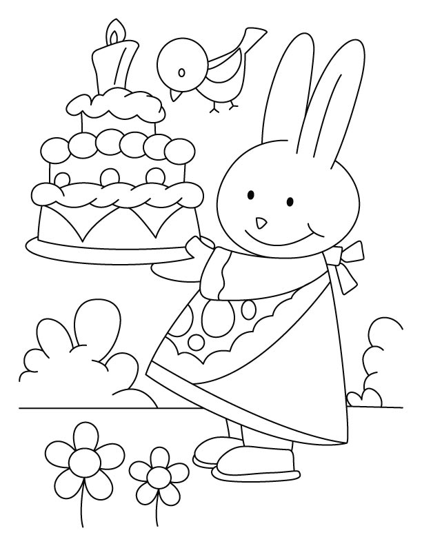 Today is my birthday coloring pages | Download Free Today is my ...