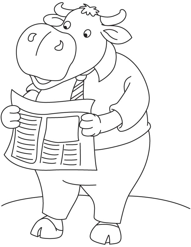 buffalo reading newspaper coloring page download free buffalo reading newspaper coloring page. Black Bedroom Furniture Sets. Home Design Ideas