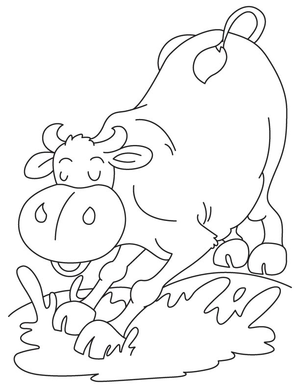 mud puddle coloring pages - photo#8