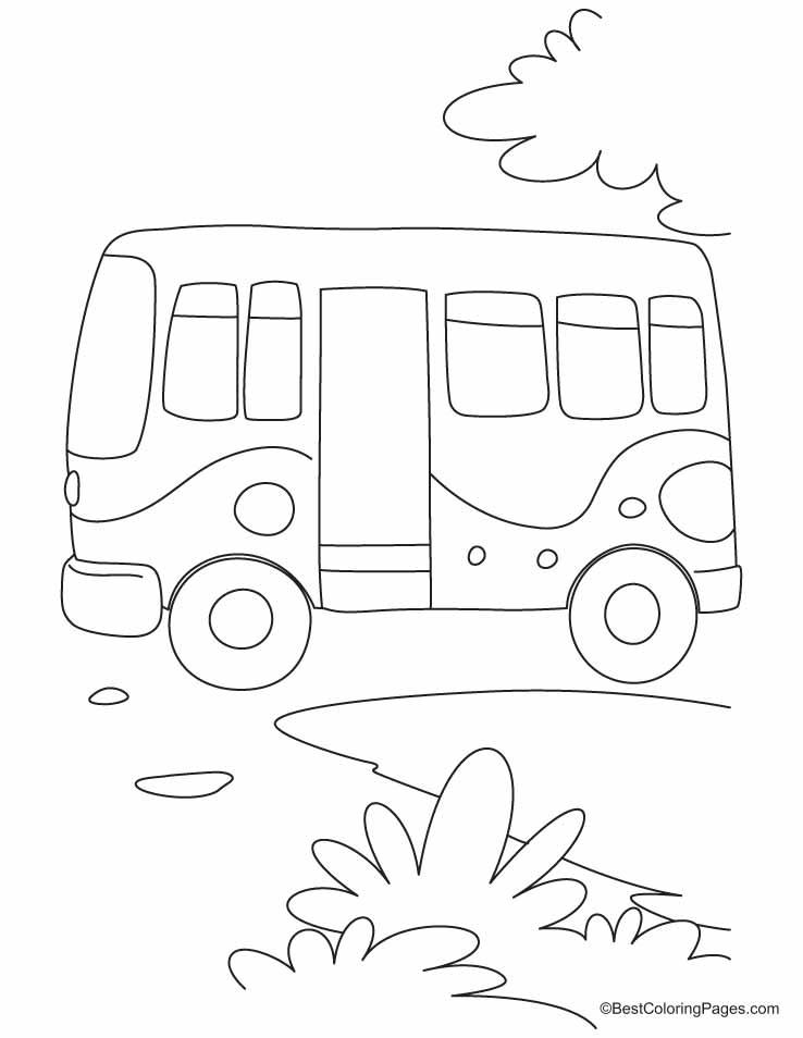 Non-stop bus, board carefully