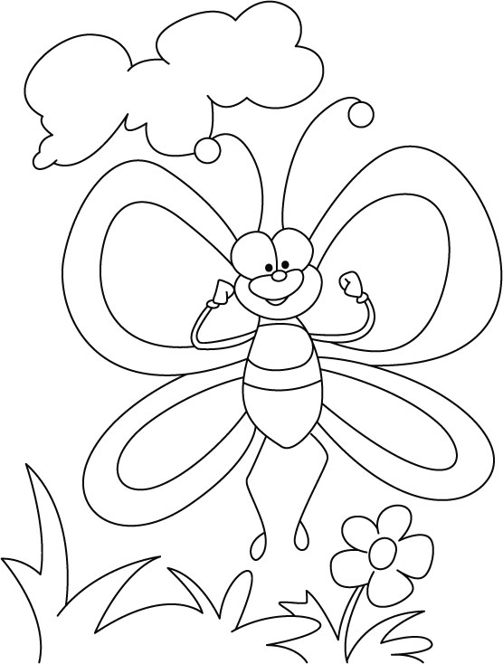 Butterfly In Spirit High Coloring Pages