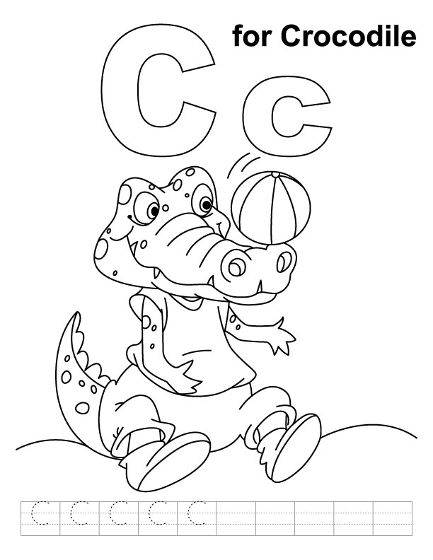 c is for cow coloring pages - photo #37