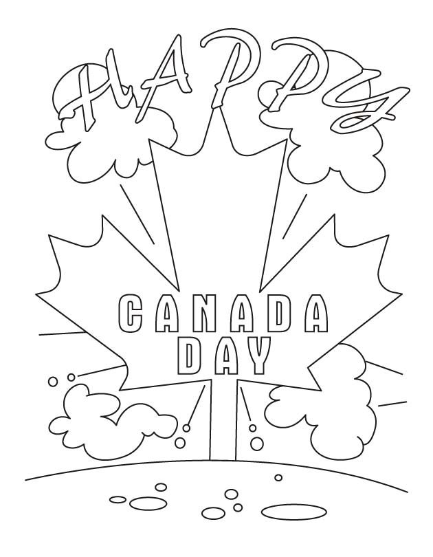 canada day coloring pages - photo#31