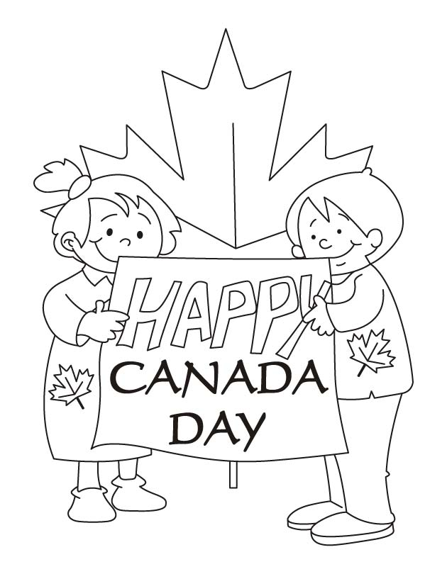 Worksheet. Our hopes are high Happy Canada day coloring pages  Download Free