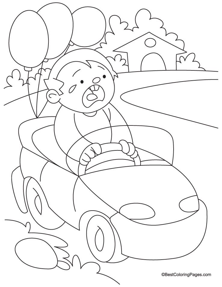 Toy car coloring page | Download Free Toy car coloring page for kids ...