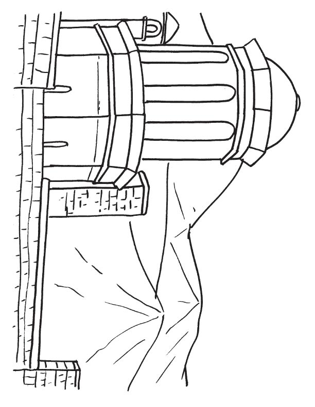 castle of good hope coloring page