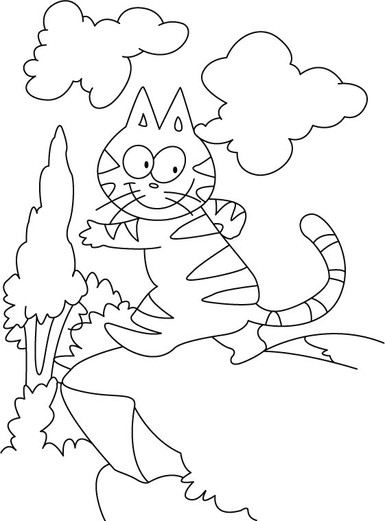 Free Coloring Pages Of Yellow Paint Splat Splat The Cat Coloring Page