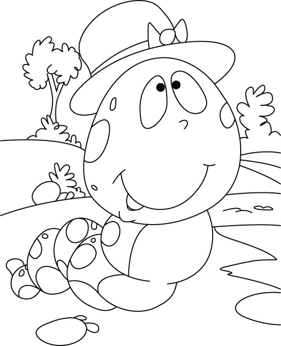 caterpillar, what ponder coloring pages